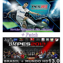 Pro Evolution Soccer 2013 Reloaded + Patch Bmpes 13 Link Dvd