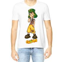 Camisetas Turma Do Chaves Chapolin Seu Madruga Florinda B