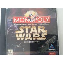 Star Wars Monopoly Cd-rom Edition - Original Y Seminuevo