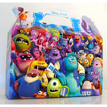 Bolsita Valijita Monster University Souvenir Pack X40