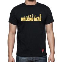 Playeras Buga Cavernicola The Walking Dead Zombies Serie