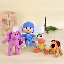 Pocoyo, Kit Com 4 Bonecos, Bandai 15 Cm Original Importado