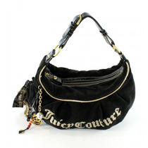 Bolsa Negra De Toalla Juicy Couture