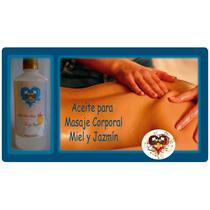 Aceite Para Masajes Corporales Miel Y Aromas Variados 500 Cc