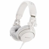 Auriculares Sony Mdr-v55 Plegables Dj Style Blanco