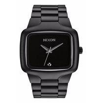Relógio Nixon Big Player 44mm Preto Com Diamante Original