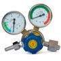 Valvula Regulador Co2 Dioxido 2 Relojes 250 Bar Mig Mag Gtia