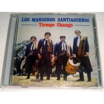 Los Manseros Santiagueños Tiempo Chango Cd Sellado