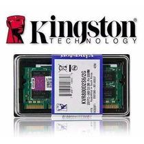 2 Pentes De Memoria Ddr2 2gb 667mhz Pc5300 Kingston