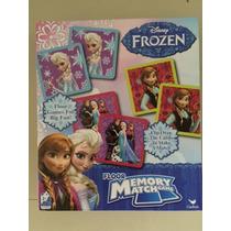 Juego De Mesa Memoria De Frozen Importado Como Nuevo
