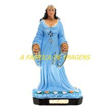 Escultura Iemanja Rainha Do Mar Linda Imagem 50cm Fabrica Ml