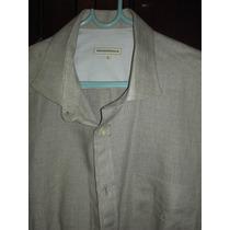 Camisa Brooksfield Oficial Tam 5 Nova 100% Linho Colômbia
