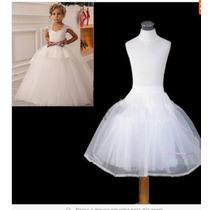 Anagua Saiote Armação Infantil Casamento Pronta Entrega