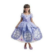 Fantasia Infantil Princesinha Sofia Disney Luxo Multibrink