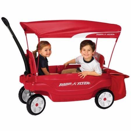 Carro De Carga Y Paseo Con Manija Para Ni 241 Os 1 390 000