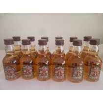 Lote 12 Minibotellitas Chivas Regal 12 Years 50 Ml Liquido!!