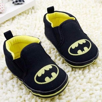 Sapato Tenis De Bebe Menino Batman Importado