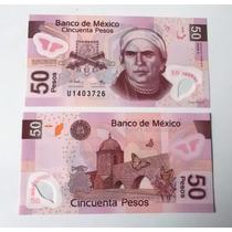 Billete 50 Pesos Tipo F (ya No Esta En Circulacion) Nuevo!!