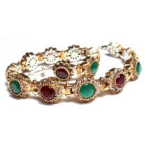 Owh-pulseira Turquia Turco Prata 925 Jade Cristal Rubi Zirco