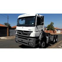 Caminhão Mb 3344 Ano 2014 6x4 Traçado Baixa Quilometragem