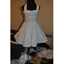 Vestido Rockabilly Vintage Niña