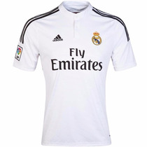 Playera Jersey Real Madrid Local 14/15 Hombre Adidas F50637