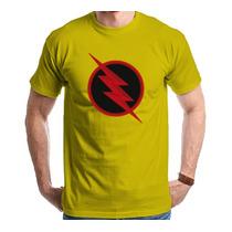 Camiseta The Flash Reverso Seriado Séries Camisa