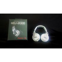 Audifonos Para Dj Pioneer Hdj 2000w / Venta O Intercambio