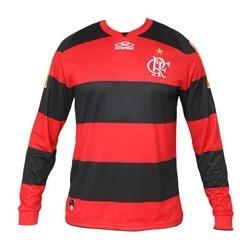 Camisa Flamengo Olympikus 2012 Manga Longa Oficial Novinha - R  249 ... a45b7fd79af74