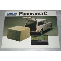 Catalogo Tecnico Fiat Panorama C Caracteristicas Exportação