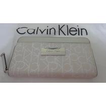 Carteira Calvin Klein Original Creme Original