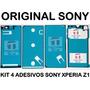 Kit 4 Adesivos Vedaçao Sony Xperia Z1 L39h C6902 C6903 C6943