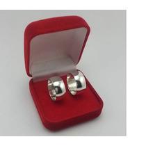 Par Aliança Compromisso Namoro 7mm Em Prata 950