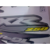 Adesivo Jogo Tornado Xr250 2004 Preta Completo