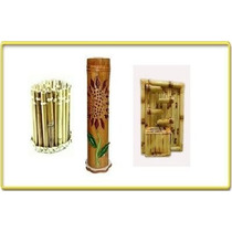 Aprenda Artesanato Com Bambu