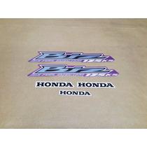 Kit Adesivos Faixas Honda Biz 125 Ks 2012 Rosa