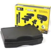 Kit Microfone Bateria Skp Dms 7