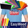 Vinyl Vinil Siser Textil Easyweed 50 Cm. X 1m, 20 Colores