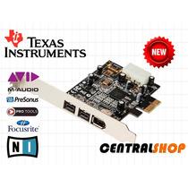 Placa Firewire Combo Pcie 1394a & 1394b Texas Instruments