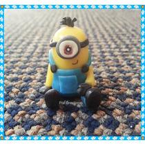 Souvenir Porcelana Minion, Minion Violeta. Cumpleaños!!