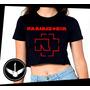 Blusa Cropped Rammstein Banda Rock Camisa Feminina