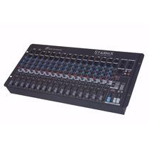 Mesa Som 16 Canais Starmix Sa 1602 D Ll Áudio Loja Oficial