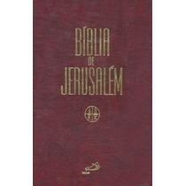 Biblia De Jerusalem Capa Dura, Grande Com Estudos