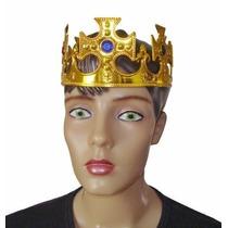 36 Coroa Rei Rainha Festa Fantasia Adereço Infantil Adulto
