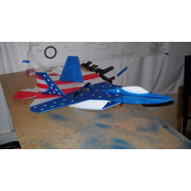 Aeromodelo F-22 Raptor - Kit Para Montar Em Depron
