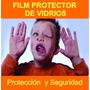 Film De Seguridad P/ Vidrios 1,5m X 1m Protección Para Niños