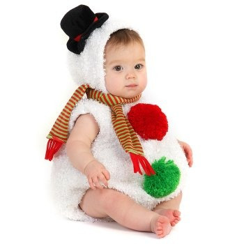 Disfraz De Mono De Nieve De Navidad Para Bebes 2 -   2 105dcf36324e