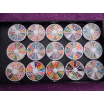 10 Pzas. Decoración De Uñas Fimo Carrousel $11.5 C/u
