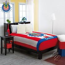 Chivas Cobertor Ind Sarape Ninos 1pc Regalo Colcha Futbol Nw