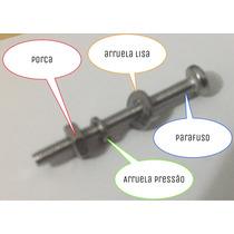 Parafuso M2.5 25mm Philips Arruelas E Porca! 10 Conjuntos